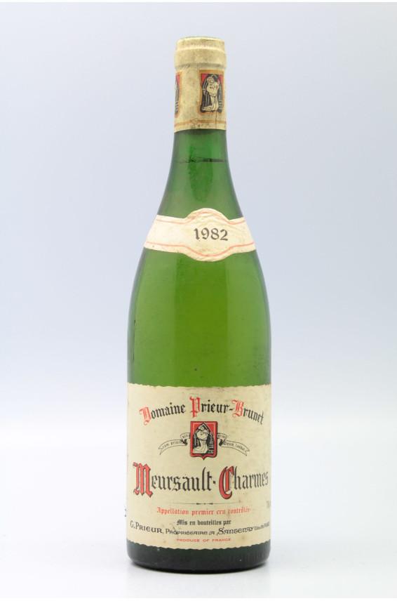 Prieur Brunet Meursault 1er cru Charmes 1982