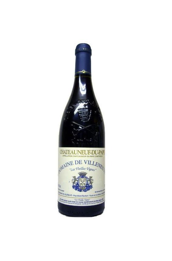 Château de Villeneuve Châteauneuf du Pape Vieilles Vignes 2001