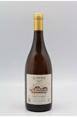 Huet Vouvray Le Mont Moelleux 1ère Trie 1996