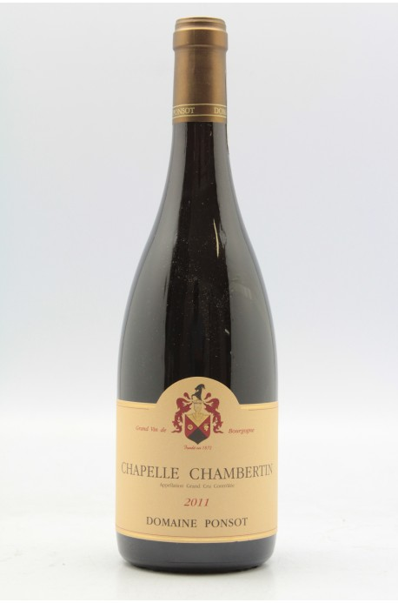 Ponsot Chapelle Chambertin Grand cru 2011