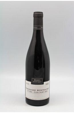 Morey Coffinet Chassagne Montrachet 1er cru Clos Saint Jean 2010 rouge