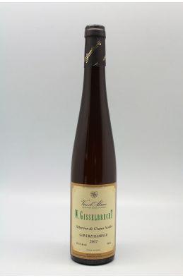 Gisselbrecht Alsace Gewurztraminer Sélection de Grains Nobles 2007 50cl