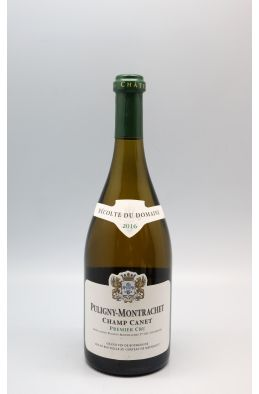 Château de Meursault Puligny Montrachet 1er cru Champa Canet 2016