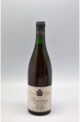 Foreau Vouvray Moelleux Réserve 1989