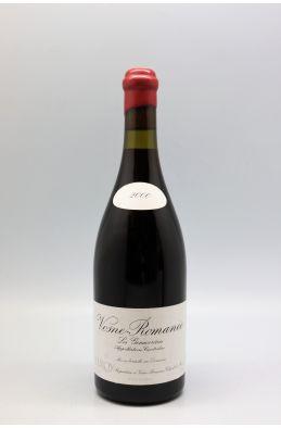 Domaine Leroy Vosne Romanée Les Genaivrières 2000
