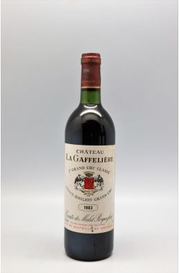 La Gaffelière 1983