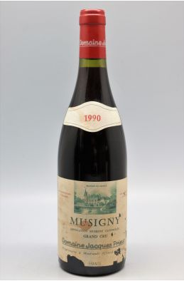 Jacques Prieur Musigny 1990 -10% DISCOUNT !