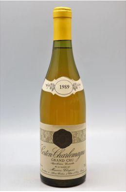 Maurice Chapuis Corton Charlemagne 1989