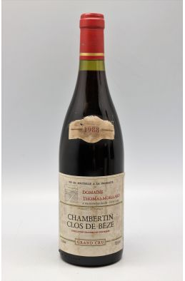 Thomas Moillard Chambertin Clos de Bèze 1988 -5% DISCOUNT !
