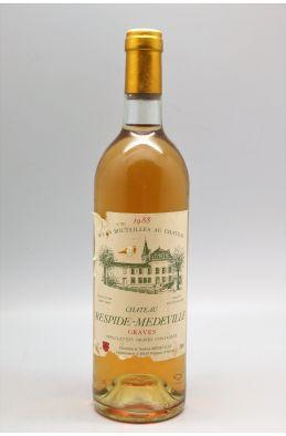 Respide Medeville 1988 blanc