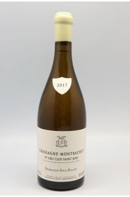 Paul Pillot Chassagne Montrachet 1er cru Clos Saint Jean 2017