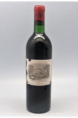 Lafite Rothschild 1969 - PROMO -10% !