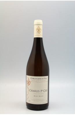 Christophe & Fils Chablis 1er cru Mont de Milieu 2013