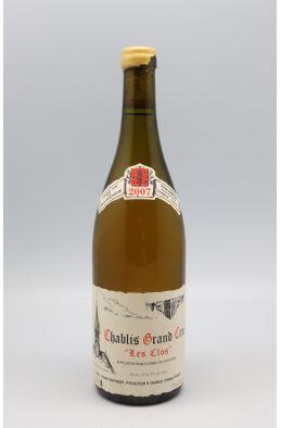 Vincent Dauvissat Chablis Grand cru Le Clos 2007