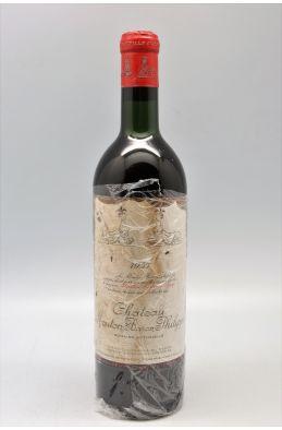 Mouton Baron Philippe 1957 - PROMO -10% !