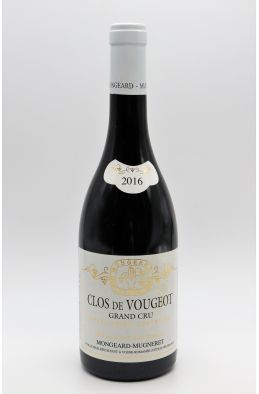 Mongeard Mugneret Clos Vougeot 2016