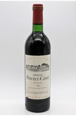 Pontet Canet 1981