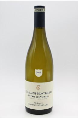 Fontaine Gagnard Chassagne Montrachet 1er cru Les Vergers 2019