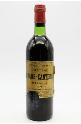Brane Cantenac 1978 - PROMO -10% !