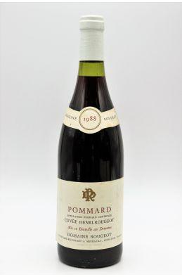 Rougeot Pommard Cuvée Henri Rougeot 1988