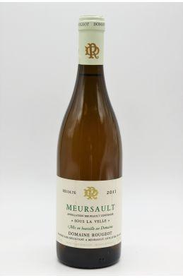 Rougeot Meursault Meursault Sous la Velle 2011