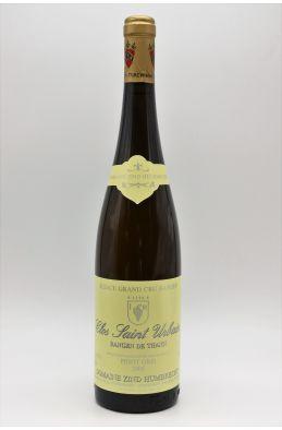 Zind Humbrecht Alsace Grand Cru Pinot Gris Rangen de Thann Clos Saint Urbain 2005