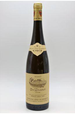 Zind Humbrecht Alsace Pinot Gris Clos Windsbuhl 1995