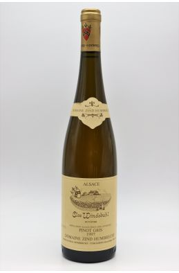 Zind Humbrecht Alsace Pinot Gris Clos Windsbuhl 1997