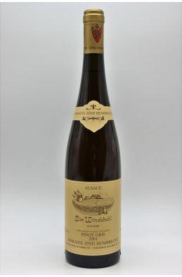Zind Humbrecht Alsace Pinot Gris Clos Windsbuhl 2001