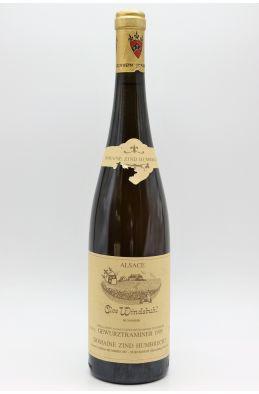Zind Humbrecht Alsace Gewurztraminer Clos Windsbuhl 1995