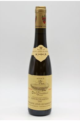 Zind Humbrecht Alsace Gewurztraminer Clos Windsbuhl Vendanges Tardives 2005 37.5cl