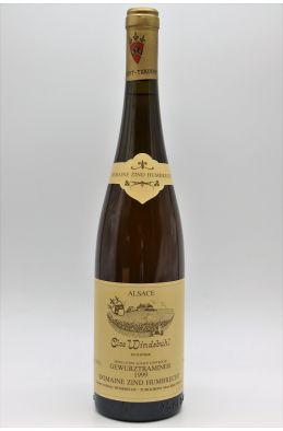 Zind Humbrecht Alsace Gewurztraminer Clos Windsbuhl 1999