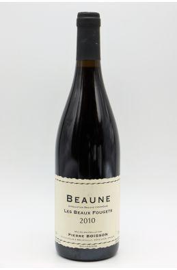 Pierre Boisson Beaune Les Beaux Fougets 2010 rouge
