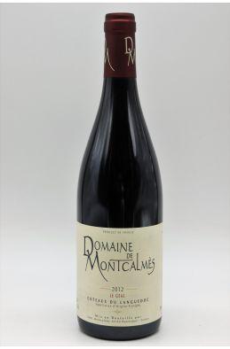 Montcalmes Côteaux du Languedoc Le Geai 2012